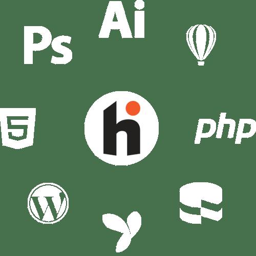 PHP training, Graphic design training, Photoshop training, Wordpress training, CorelDraw Training